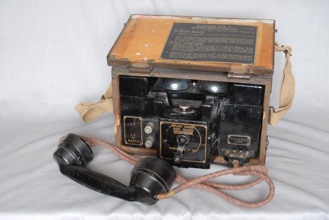 Captain Fuller later Colonel, Invented this form of military field telephone. Because of the internal buzzer unit (chopper) it could transmit morse via only one wire, using the ground as the other connection. There was a Mk1 and Mk2 version also used during WW1