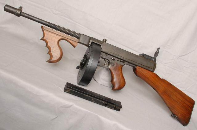 The M1928A1 was the military version of the ''Tommy Gun'' also known as ''Chopper''  ''Chicago Typewriter'' and ''Chicago Piano''. General John. T. Thompson designed the first model in 1916 and started with the help of a financier, formed the 'Auto Ordinance Company', where the phrase ''Sub Machine ...
