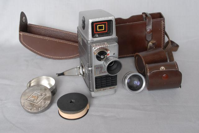 Bell & Howell 624 cine cameras were manufactured in Britain by the Cine and Photographic Division of Rank Precision Industries Ltd. The original design was evolved by the Bell & Howell Co. of Chicago U.S.A. and although the American model numbers were different, the cameras had similar speci...
