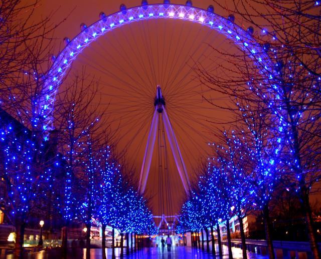 Pictures Of London Landmarks. London landmarks at night