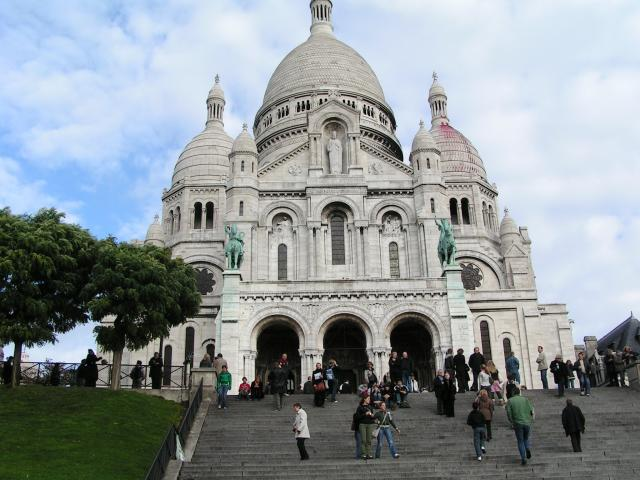 Well known landmarks of central Paris