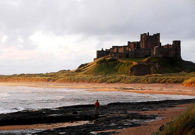 Northumberland has a number of famous castles, both on the coast and inland.