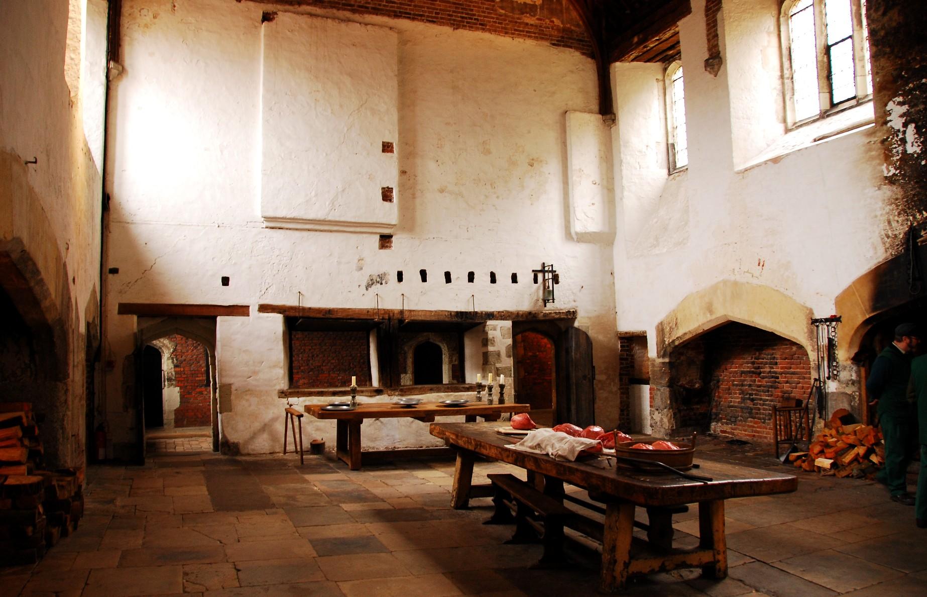 Tudor Kitchens 4, Hampton Court Palace: NEN Gallery