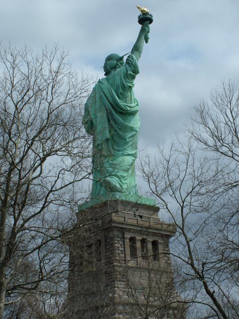 Located on a 12 acre island, the 'Statue of Liberty Enlightening the World' was a gift of friendship from the people of France to the people of the United States and is a universal symbol of freedom and democracy. The Statue of Liberty was dedicated on October 28, 1886, designated as a National Monu...