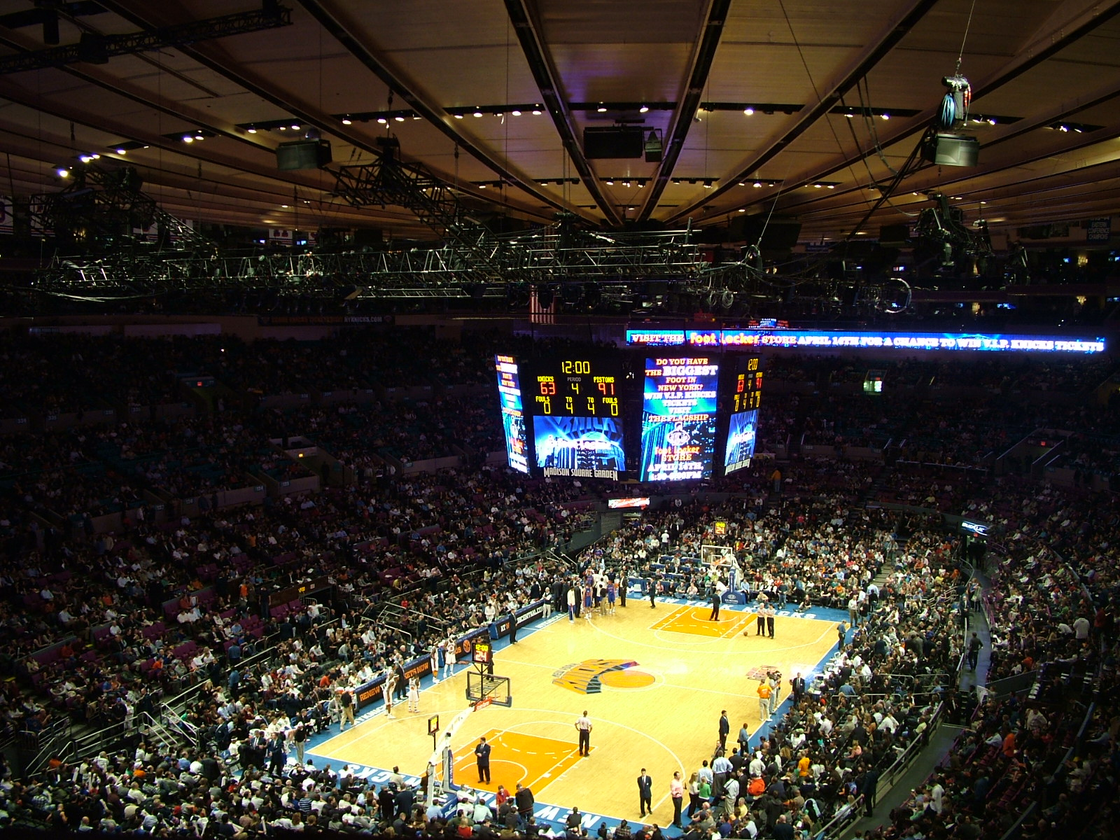 Check out Madison Square Garden in New York (PHOTOS)   BOOMSbeat