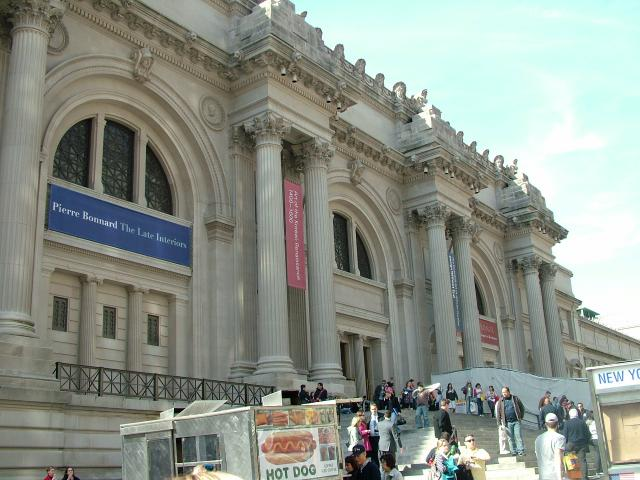 The Metropolitan Museum of Art is an art museum located on the eastern edge of Central Park, along what is known as Museum Mile in New York City, USA. It has a permanent collection containing more than two million works of art.