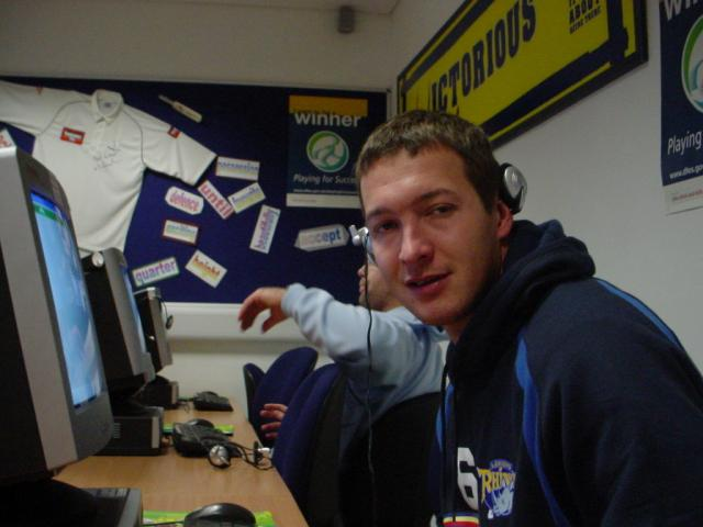 Danny McGuire of Leeds Rhinos knows how important it is to keep up with your studies!