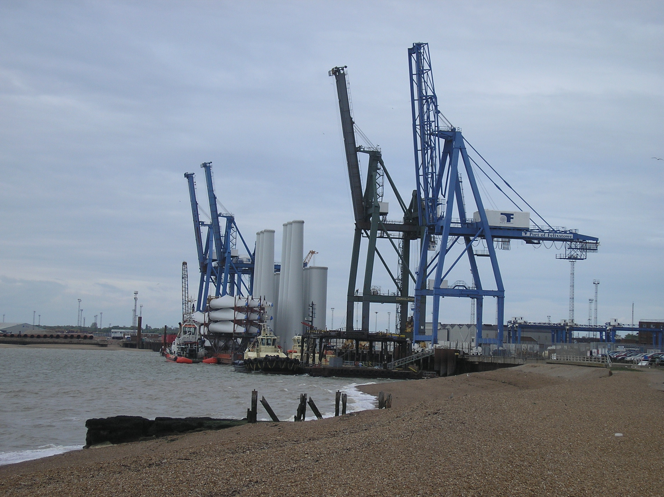 The Port of Felixstowe is Britain's busiest, and one of Europe's most important, freight container terminals. 