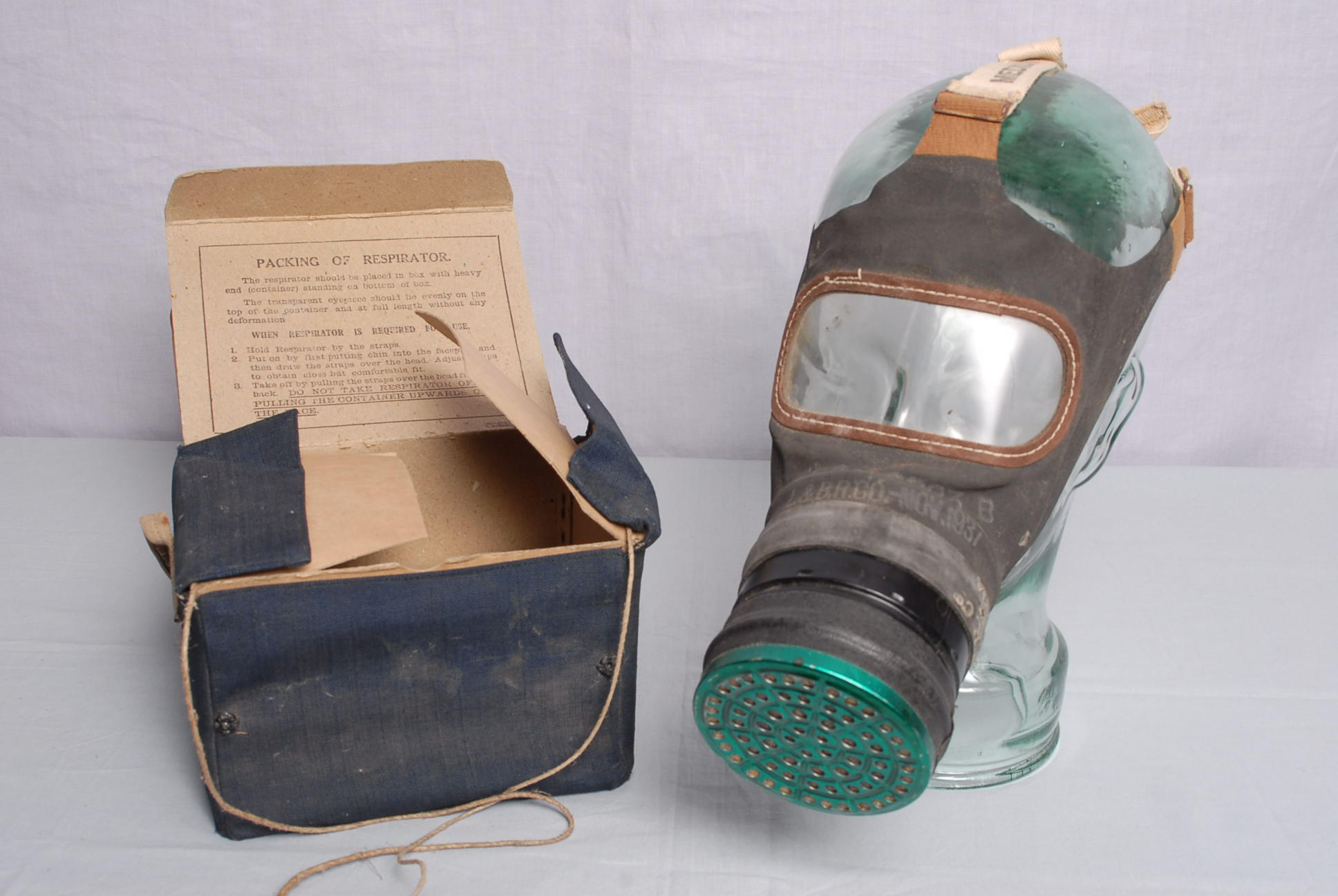 How To Make A Ww Gas Mask For Kids