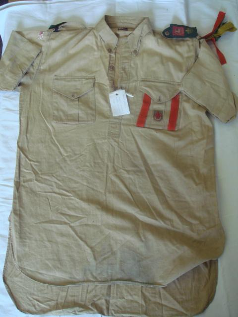 Boy Scout's Shirt of 1st Tring Division