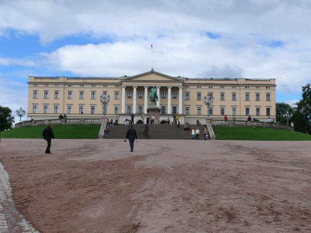 The Royal Palace in Oslo was built in the first half of the 18th century as the Norwegian residence of Swedish-Norwegian king Charles III (Charles XIV of Sweden) and is used as the official residence of the present Norwegian Monarch.
