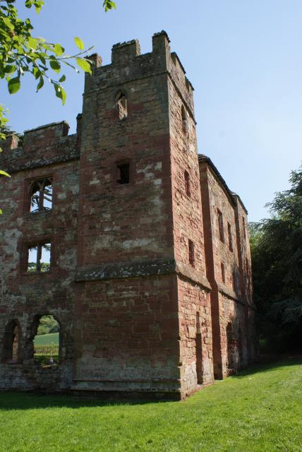Acton Burnell Castle in Acton Burnell, Shropshire.