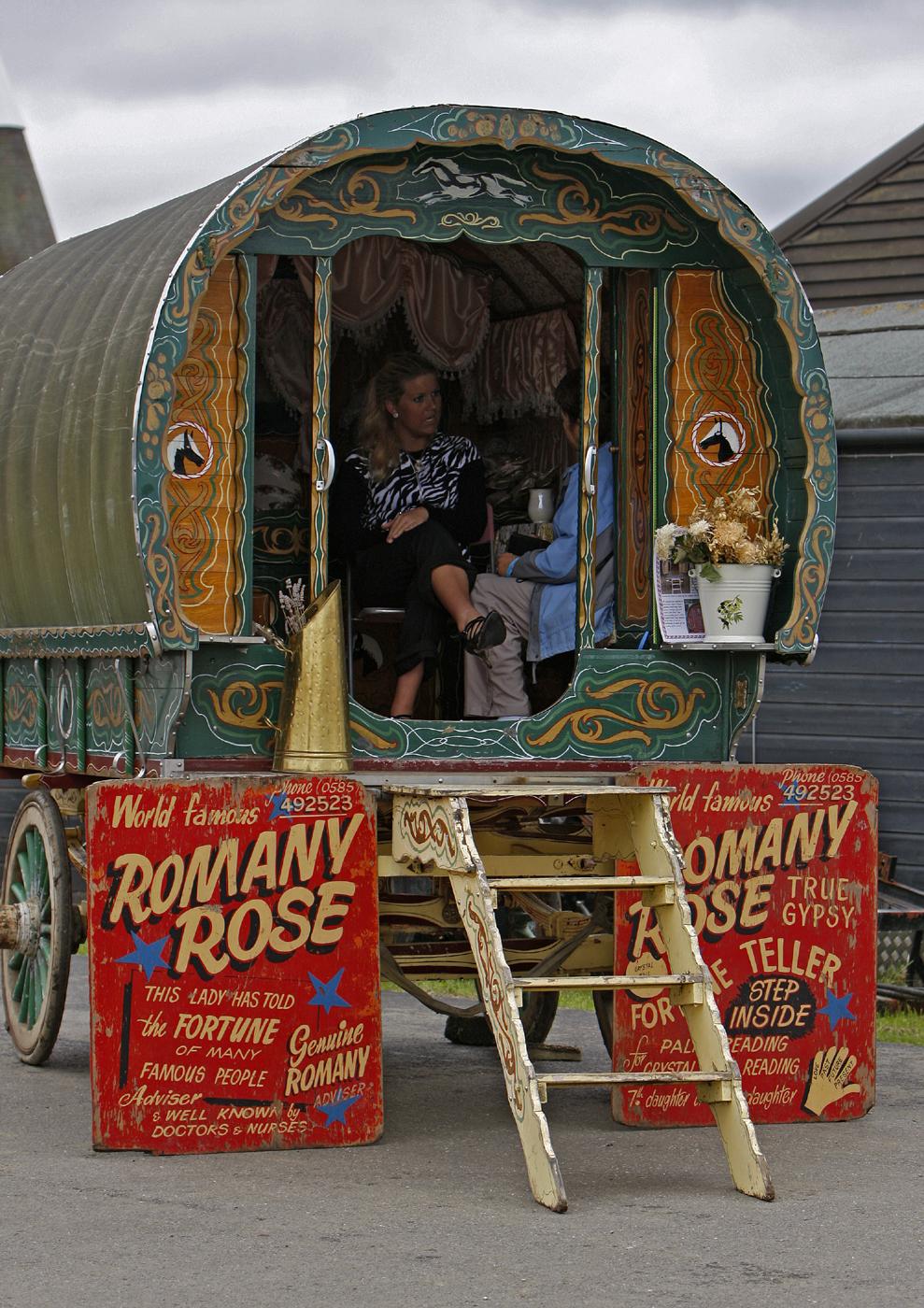 Fortune Teller's Wagon: NEN Gallery