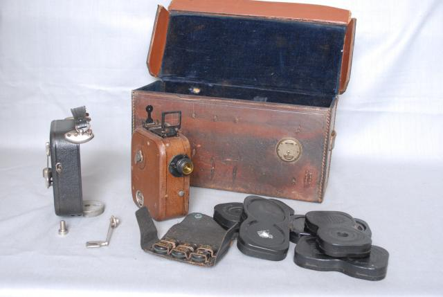In Britain 9.5 mm film, projectors and cameras were distributed by Pathescope Ltd. During the years leading up to the Second World War, and for some years after the war, the gauge was used by enthusiasts who wanted to make home movies and to show commercially made films at home. Pathescope produced ...