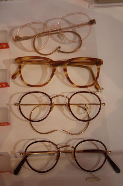 The NHS controlled the design and price of items such as spectacles. In the 1950s the NHS was supplying 5 miilion pairs of glasses per year.