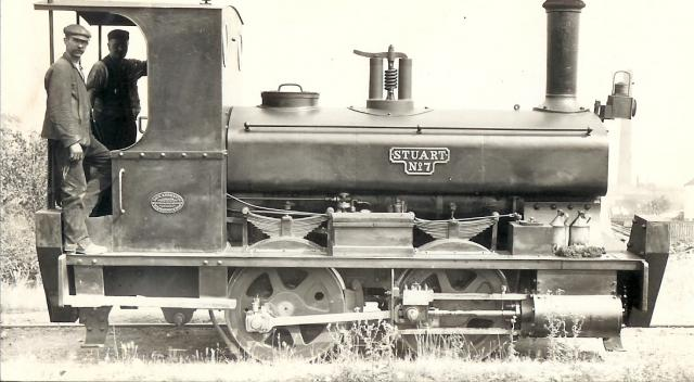 Steam locomotives were used in many of the factories along the edge of the River Thames at Thurrock. This example is from the cement works at West Thurrock.