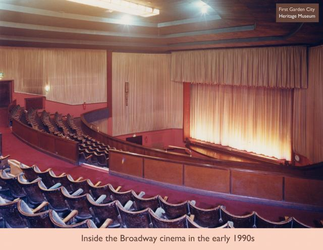In 1996 The Broadway Cinema was refurbished extensively. 3 screens were made from the original 1 screen space. Downstairs was split into 2 screens and the upstairs balcony was altered to become the 3rd screen.