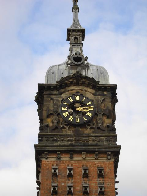 The clocktower at Beaumanor