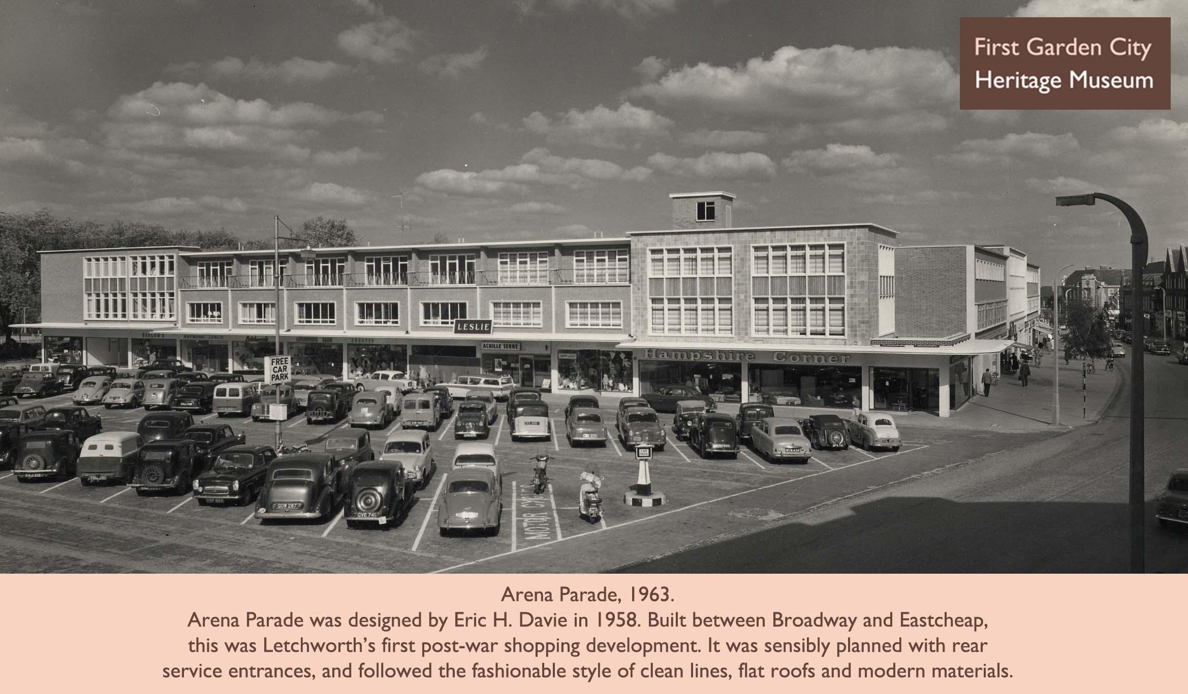 Arena parade 1963 nen gallery for Garden city ghost car