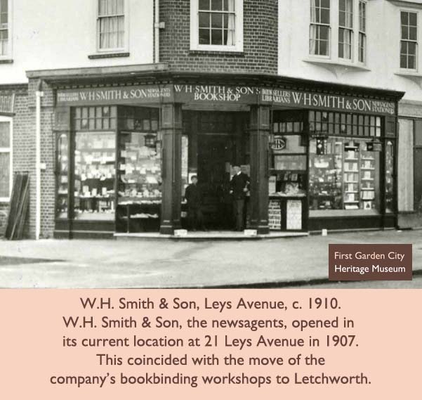 Letchworth Garden City is generally associated with small independent shops. However, it has actually had a number of chain stores from its early days including Star Supply Stores, Bradley Pass & Co., Home & Colonial Tea Stores, Boots the Chemist and Woolworths.