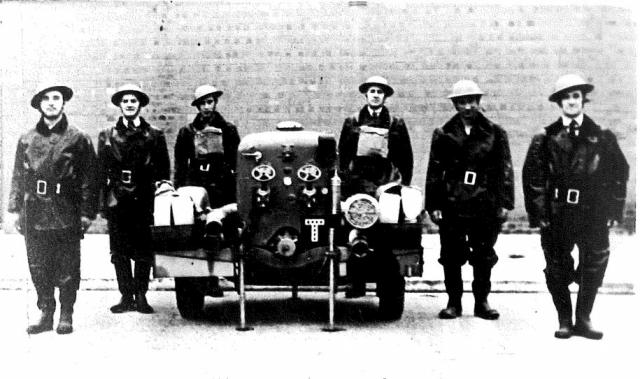 Those who were not conscripted to join the army or who had 'conscientiously objected' to joining the army were expected to carry out some form of civilian service.
