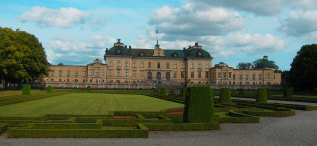The residence of the Swedish royal family - currently King Carl XVI Gustav and Queen Silvia. Situated just outside of Stockholm.