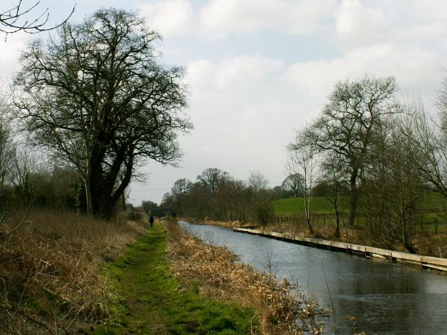The Montgomery Canal in North Shropshire