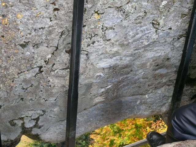 Anyone who kisses the famous Blarney Stone is said to have the gift of eloquence bestowed on them. 