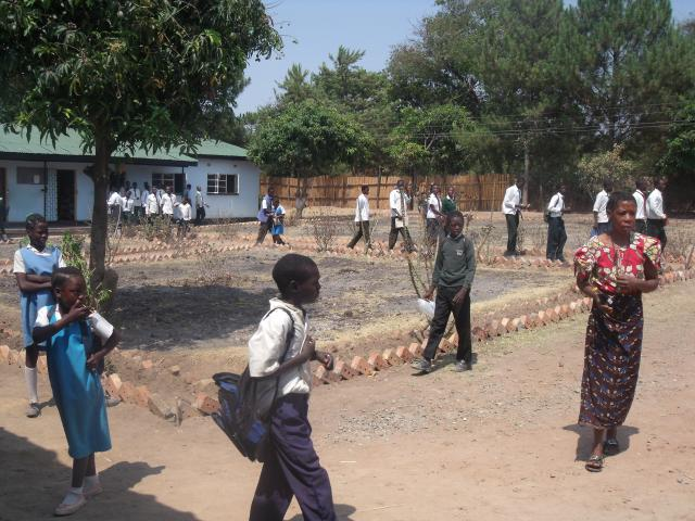 village school in zambia