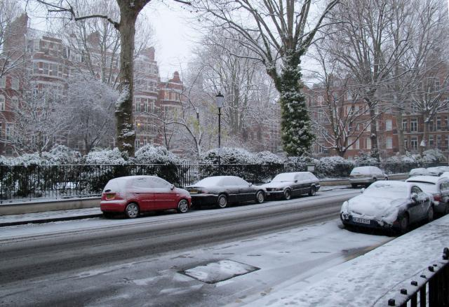 Picture taken January 11th 2010 near Earl's Court