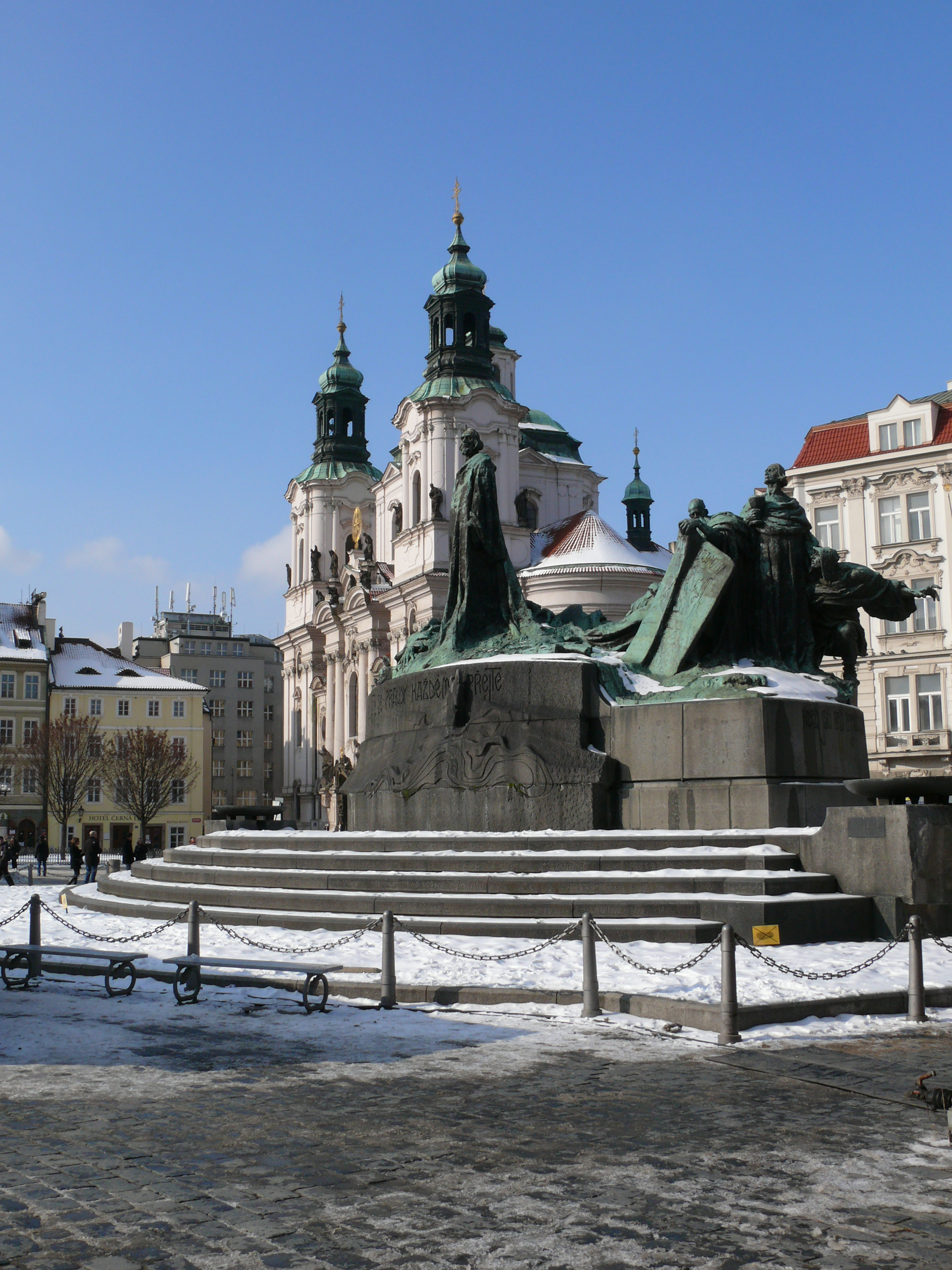 Dating back to the late 12th century, the Old Town Square started life as the central marketplace for Prague. Over the next few centuries, many buildings of Romanesque, Baroque and Gothic styles were erected around the market. The square has also been the site of demonstrations, confrontations and e...