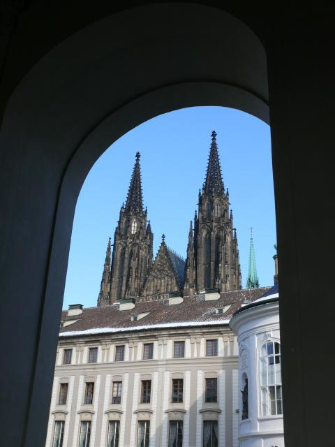 Prague Castle is the largest medieval castle complex in Europe and the ancient seat of Czech kings throughout the ages. The Prague Castle complex consists of Saint Vitus Cathedral (the most recognisable landmark in the city), viewing towers, museums and art galleries, a monastery, Golden Lane and se...