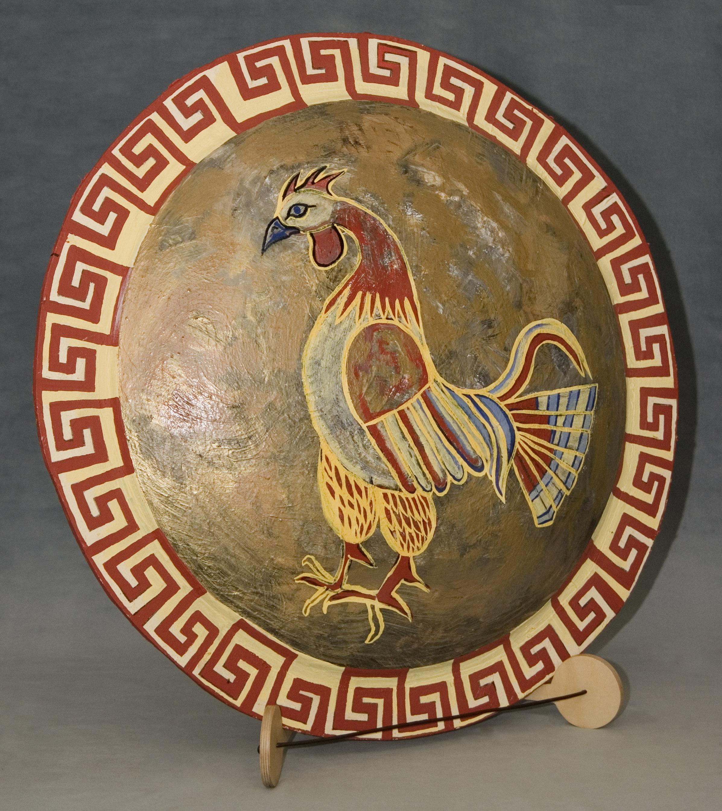 Replica Ancient Greek ShieldAncient Athenian Shield