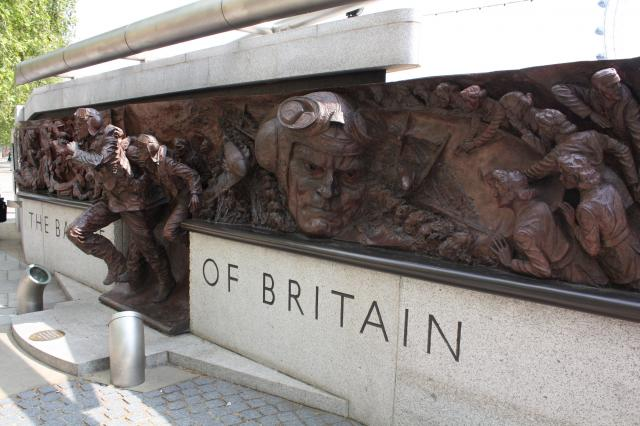 The memorial stands on the Embankment, close to Westminster Bridge in London. The idea for this monument came from the Battle of Britain Historical Society who felt it was important to recognise one of the key battles of World War II. It was created by the sculptor, Paul Day.