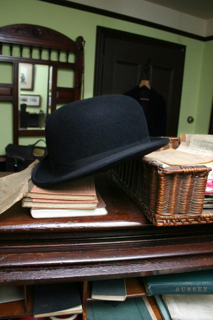 The Colonel's Bowler Hat. (Courtesy of the Colonel Stephens Museum, Tenterden)