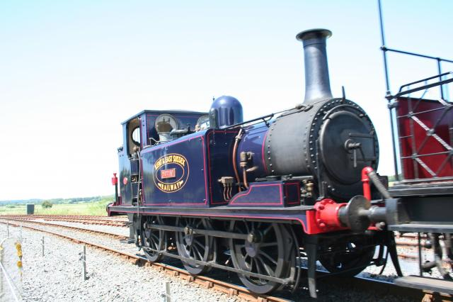 Victorian 'Terrier' steam engine 2 (on the Kent and East Sussex Railway)