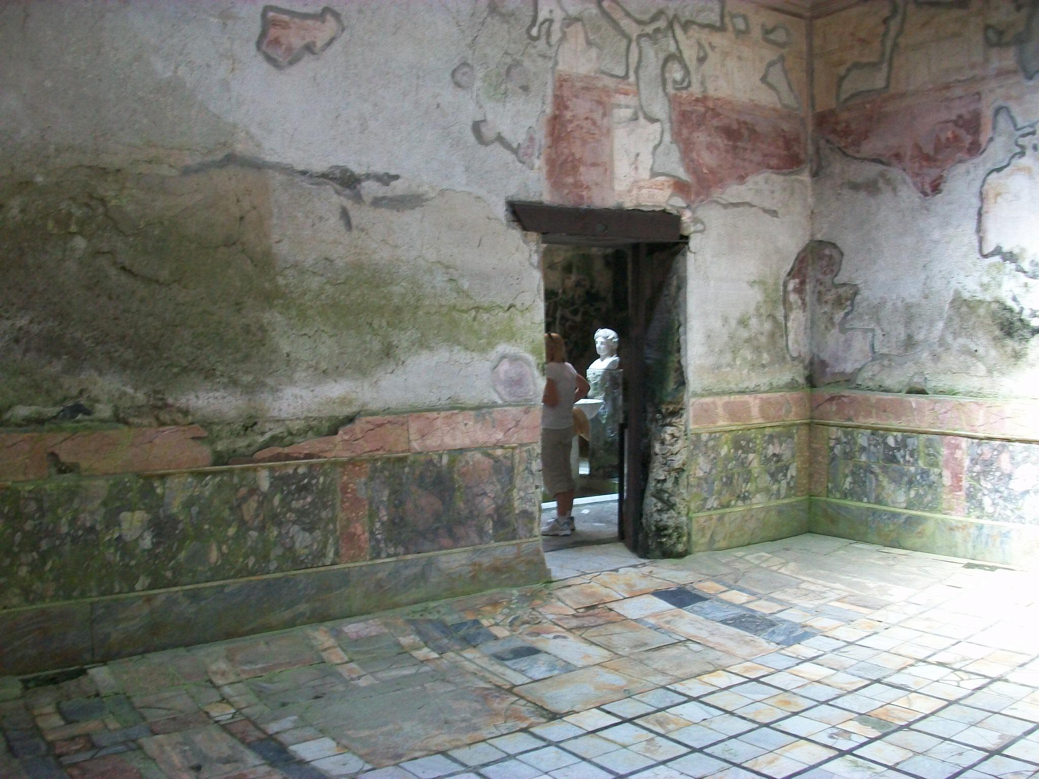 Herculaneum The Suburban Baths Frigidarium Nen Gallery
