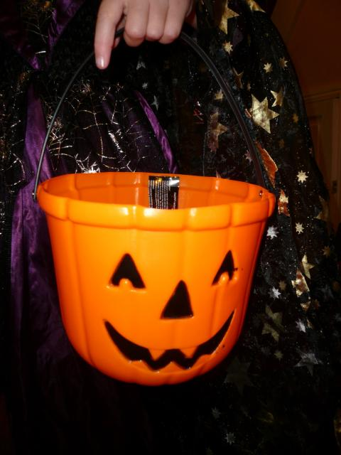 At Hallowe'en many people celebrate with spooky crafts and decorations.