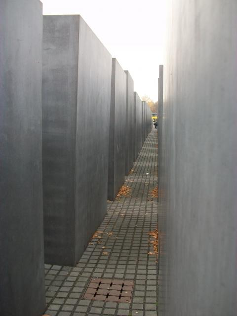 "The Memorial to the Murdered Jews of Europe, also known as the Holocaust Memorial, is a memorial in Berlin to the Jewish victims of the Holocaust, designed by architect Peter Eisenman and engineer Buro Happold. It consists of a 19,000 square meter site covered with 2,711 concrete slabs or ""stel..."