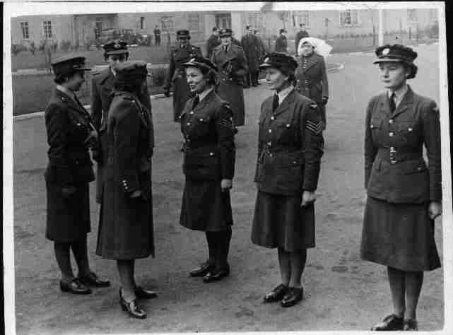 These women were Flight Sergeants in the Women's Auxiliary Air Force.  Ho did life change for women during the war?