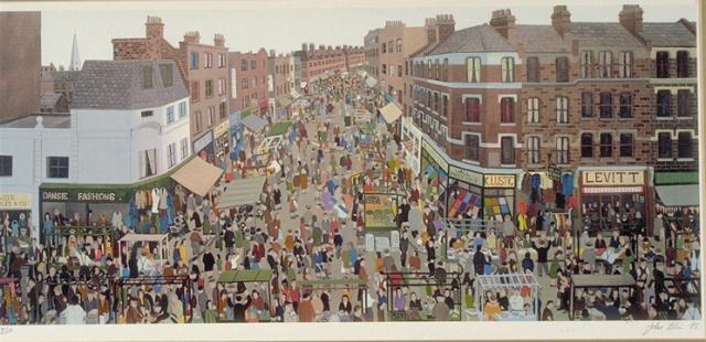 John Allin, East End Series, 1975