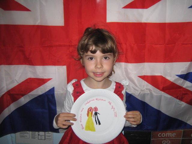 south west grid for learning trust royal wedding plate