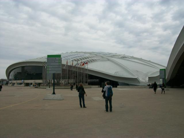 The stadium was built for the 1976 Summer Olympic Games. It is now the home of Montreal's professional baseball and Canadian football teams. It also serves as a 56,040-seat multipurpose facility for special events.