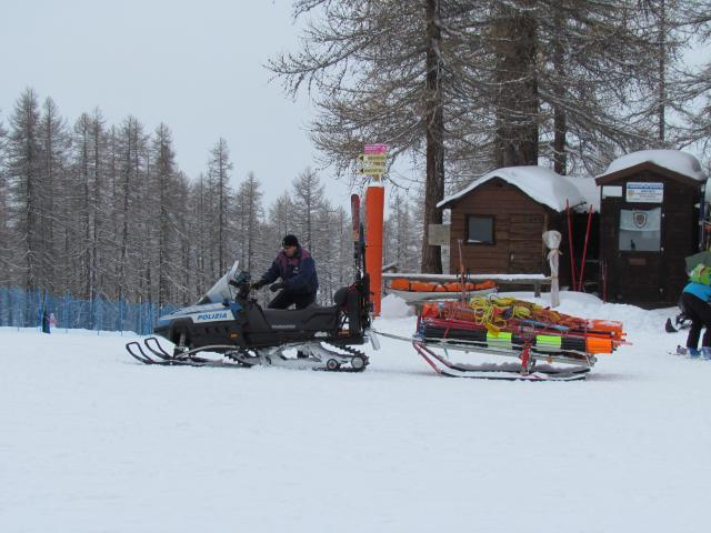 Photograph taken December 2010 in the Italian ski resort of Sauze D'Oulx.