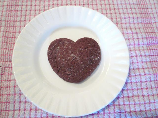 Find our Chocolate Marzipan Heart Cookie recipe in Cookit! at cookit.e2bn.org