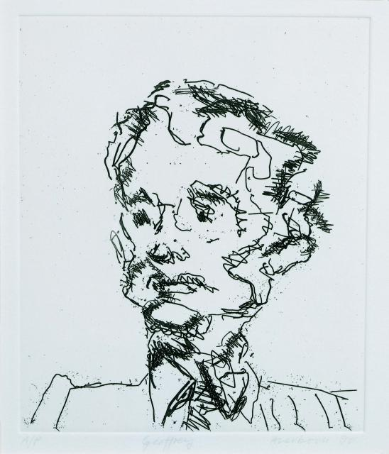 Frank Auerbach, b. 1931