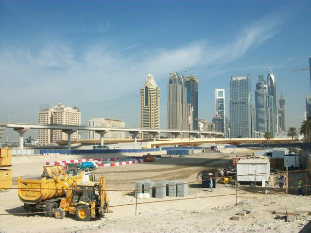 Despite the global economic recession of recent years a great deal of construction has continued in Dubai. At one time it was estimated that one-third of all the cranes in the world were in Dubai.