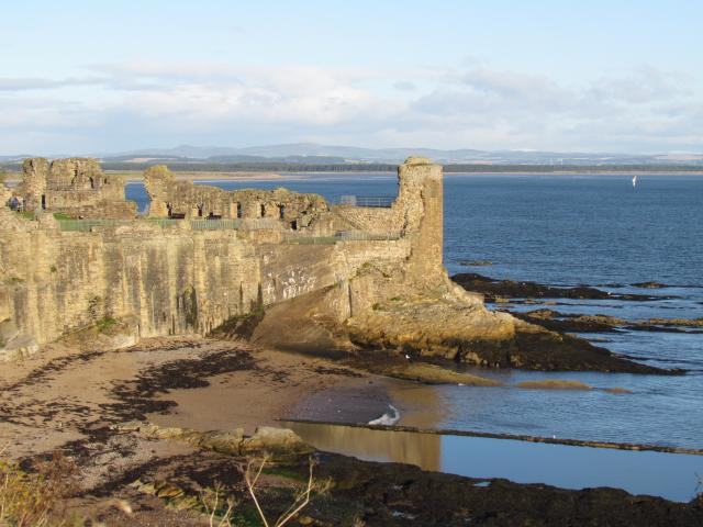 The Castle was fortified by the 1100s, and from around 1200 it was adopted as the main residence of the bishops and archbishops of St Andrews. Many changes were made in the following years before it finally fell to ruin in the late 1600's.