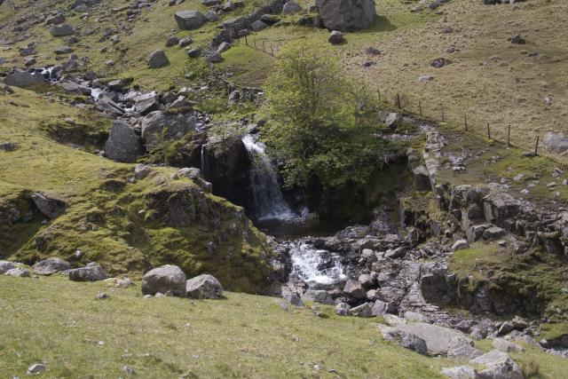 Waterfall, Greenup Gill