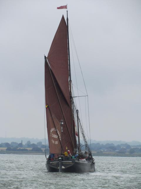Taken during the Blackwater Thames Barge Race, July 2012.